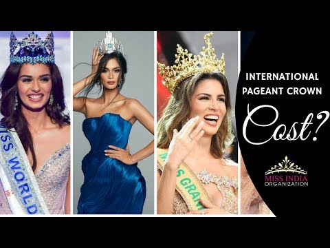 Most Expensive International Pageant Crowns Costs & Its Significance