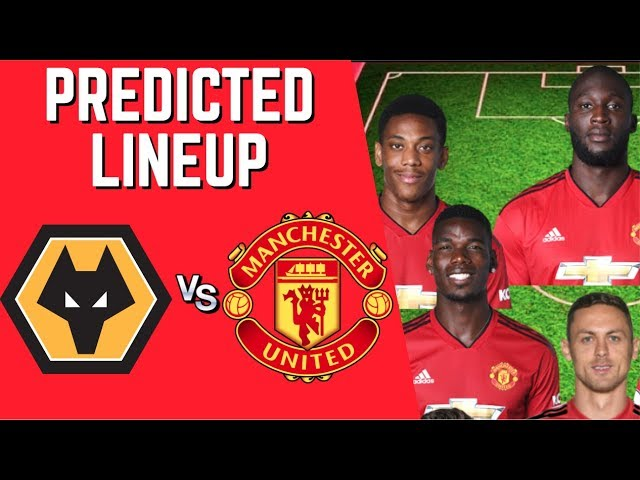 PREDICTED LINEUP - WOLVES VS MANCHESTER UNITED - FA CUP 2018/19!