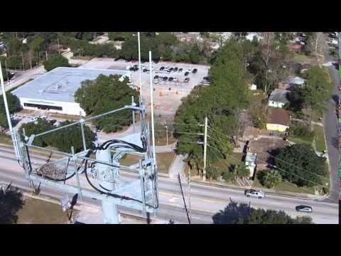 Teton East Real Estate and Dash8Drones:  Jacksonville Florida Monopole