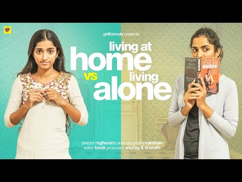 Living at Home vs Living Alone | Girl Formula | ChaiBisket