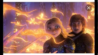 How To Train Your Dragon 3 Hiccup saves Toothless from a trap