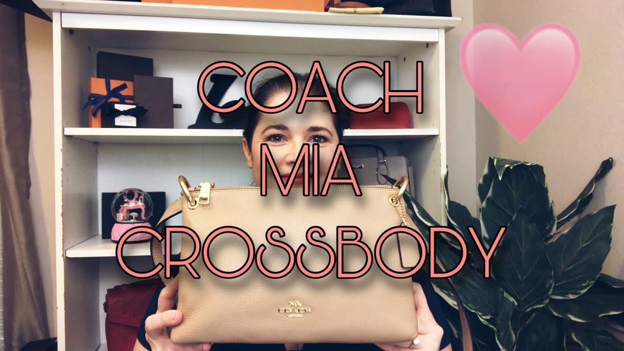 COACH Mia Crossbody | What Fits & Review | #CoachWIMB