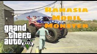 Grand Theft Auto V: Rahasia Tersembunyi: Mobil monster.