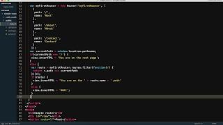 Building A JavaScript Router