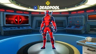 Fortnite Deadpool Skin.. IT'S HERE!