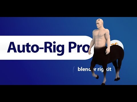 Auto-Rig Pro: Multi-Limb Feature, Centaur Rig