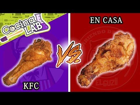 POLLO KFC vs HECHO EN CASA   EL GUZII