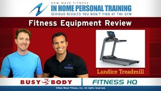 Home Fitness Equipment Review #35 - Landice Treadmill