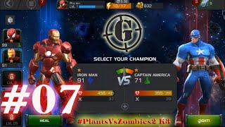 The Avengers-Iron Man vs Captain America-Game Play #1- Up Lv 07