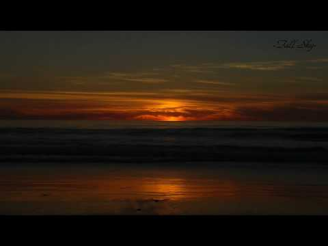 Imperial Beach Sunset (10 minutes, with passing dolphin, San Diego, CA)