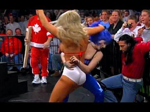 (720pHD): WCW Nitro 12/04/00 - Crowbar (w/Daffney) vs. Elix Skipper (w/Major Gunns) feat. Miss Jones