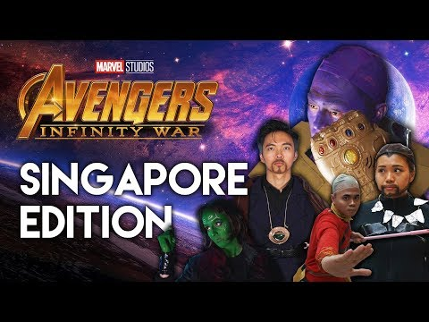 IF AVENGERS: INFINITY WAR WAS IN SINGAPORE (PARODY) - TSL Comedy