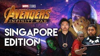 if avengers infinity war was in singapore parody   tsl comedy