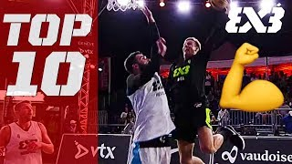 Top 10 In-Game Dunks of 2018! - FIBA 3x3