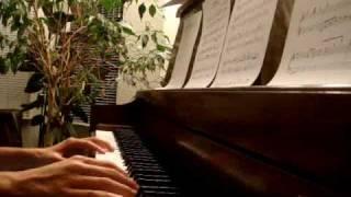 End Theme - Tenmon (5 Centimeters per Second) Piano