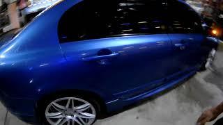 Honda cıvıc oto cam film uygulaması