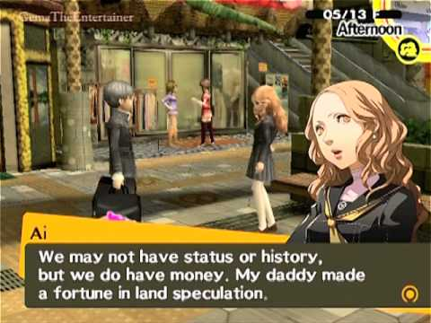 Persona 4 dating rise - How to Find human The Good wife