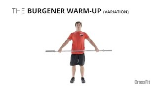 The Burgener Warm-Up