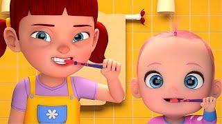 La Chanson Du Matin ( Brosse tes dents ) | Comptines pour bébé