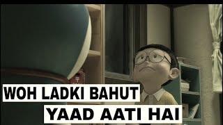 Woh ladki bahut yaad aati haisad unplugged | kumar sanu | qayamat | siddharth slathia | animated ||