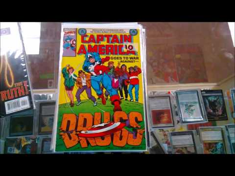 A Day in the Life of a Comic Book Collector