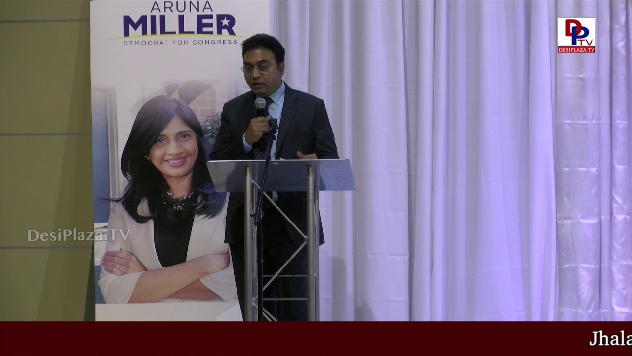 Satish Manduva Full Speech at DFW Indian Community - Honoring Aruna Miller || DesiplazaTV || Irving