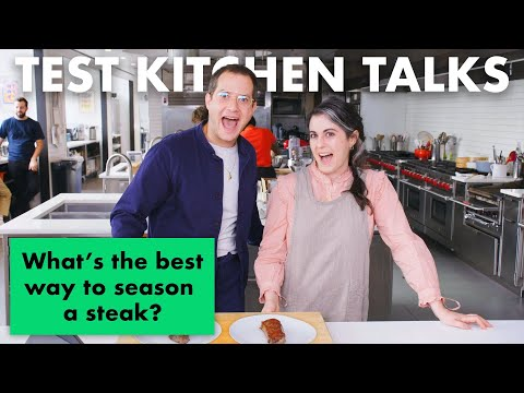 Professional Chefs Answer 14 Common Steak Questions | Test Kitchen Talks | Bon Apptit