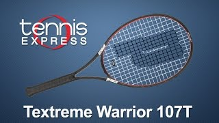 Prince Textreme Warrior 107 T Racquet Review | Tennis Express
