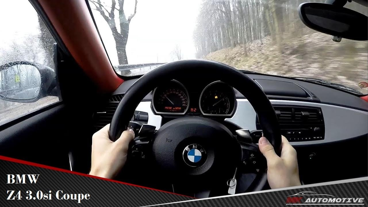 Bmw Z4 3 0si Coupe Pov Test Drive Drift Youtube