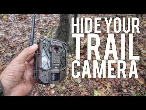 How to Hide Your Trail Camera From Trespassers/Poachers  S8  #36