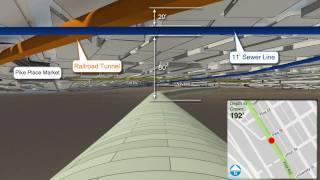 Proposed SR 99 Bored Tunnel  Underground Simulation March 2010