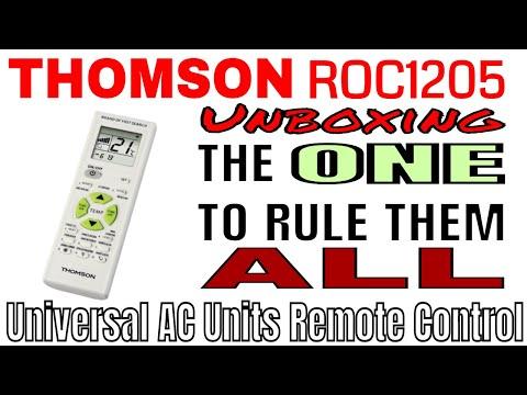 Thomson ROC1205 Mando Universal Aire Acondicionado