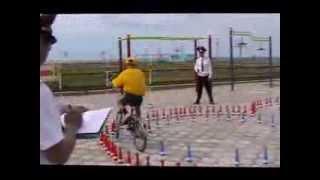 8 республиканский слет ЮИД Конкурс (Фигурное вождение велосипеда)