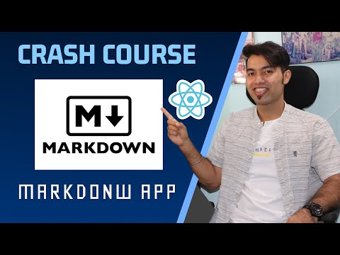 create your Markdown Website in React JS | Learn Markdown In One Video In Hindi 2021