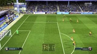FIFA 15 Ultimate Team Gameplay - THE REFS SUCK! Fast Paced 2nd Half