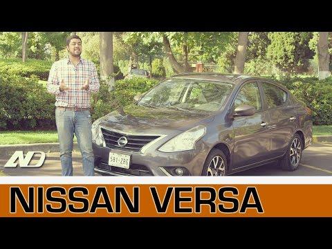 Nissan Versa - Mucho espacio por poco dinero