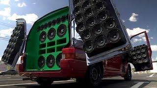 Volkswagen Transporter T4 - Самый громкий в Казахстане