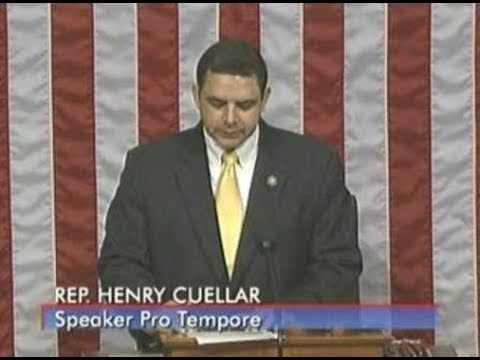 Serving as Speaker Pro Tempore on the House floor