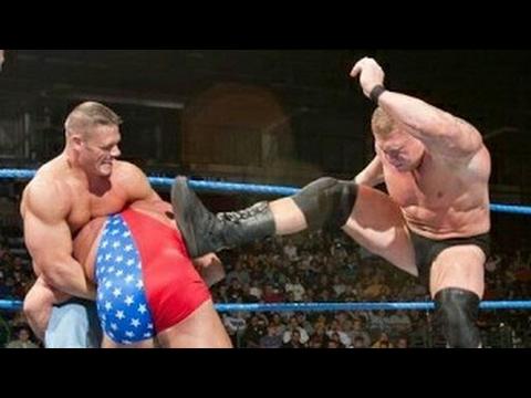 Tag Team Match, John Cena U0026 Brock Lesnar Vs Undertaker U0026 Kurt Angel (best Match Ever).