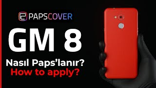 How to Apply? General Mobile GM 8 (PapsCover Skin)