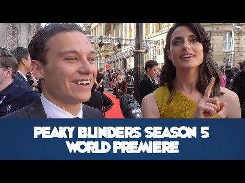 Peaky Blinders Season 5 Birmingham World Premiere - Red Carpet Interviews