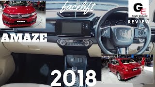 Honda Amaze VX  2018 edition | detailed review with all specifications | interiors & exteriors !!!!!