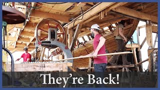 They're Back! - Episode 162 - Acorn to Arabella: Journey of a Wooden Boat