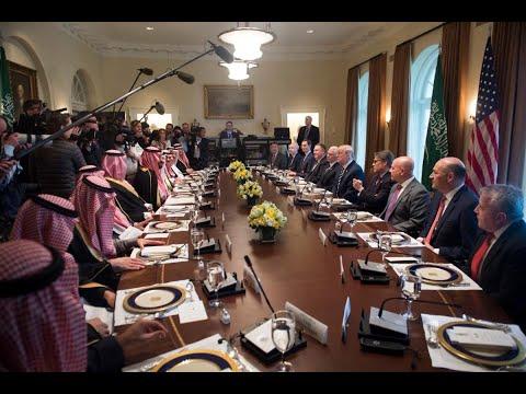 غداء عمل يجمع ترامب بولي العهد السعودي  - نشر قبل 1 ساعة