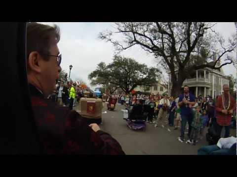 Rolling on St. Charles, Laissez Boys in Tucks, Mardi Gras 2013