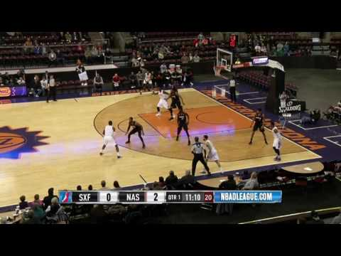 Northern Arizona Suns x Sioux Falls Skyforce 11 27 16