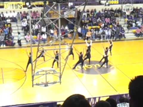 Northwest classen high school pom squad