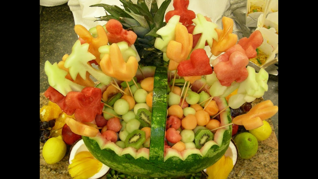 How To Make A Fruit Platter Look Good Youtube