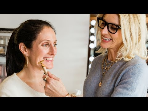 How To Use The Jillian Dempsey Gold Bar Face Sculpting Tutorial