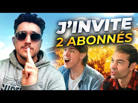 J'INVITE 2 ABONNÉS POUR UNE PARTIE DE FOLIE